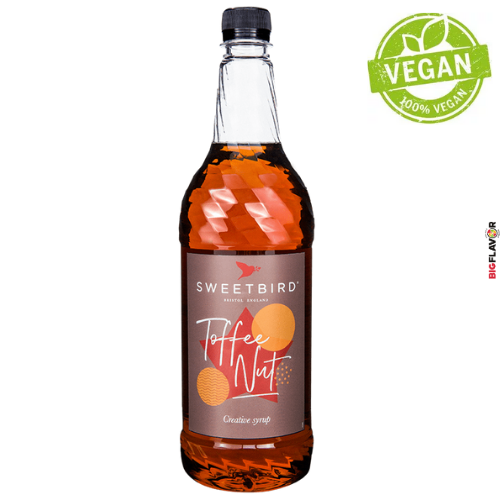 [NSB216] Toffee Nut Sirop 1ltr Sweetbird