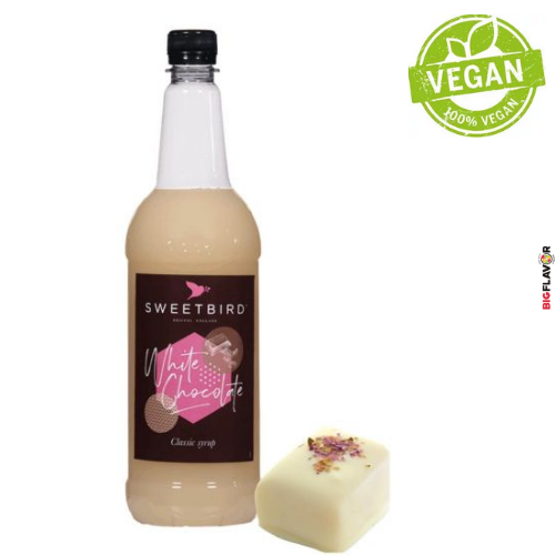[NSB115] White Chocolate Sirop 1ltr Sweetbird