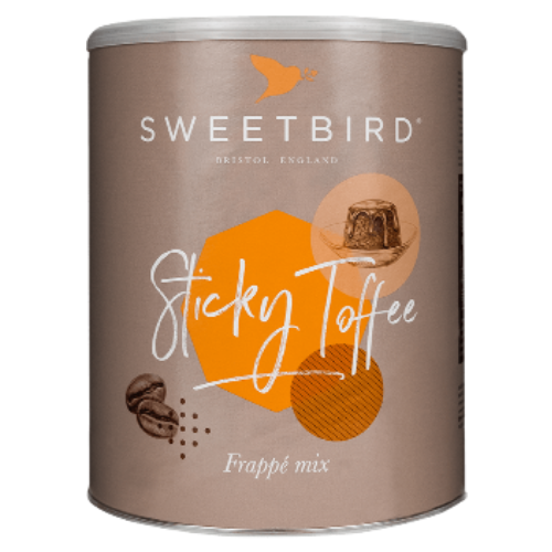 [B364A] Sticky Toffee Frappe 2kg Sweetbird